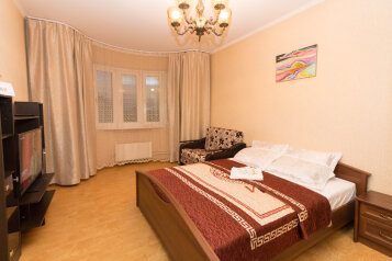 1-комн. квартира, 42 кв.м. на 4 человека, улица Олеко Дундича, 7, Москва - Фотография 1