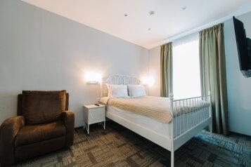 Апартаменты двухкомнатные:  Квартира, 3-местный (2 основных + 1 доп), 2-комнатный, Апарт-отель , 7-я Красноармейская улица, 16 на 6 номеров - Фотография 4