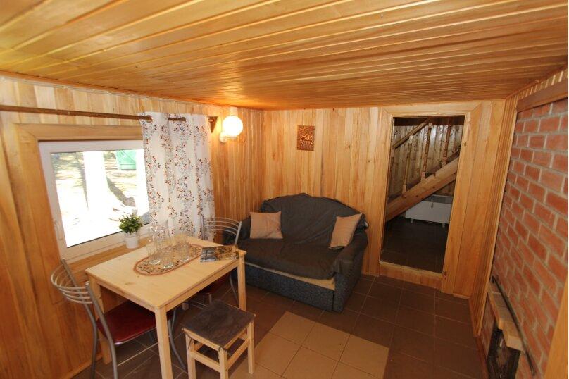 Дом с сауной для отдыха, 50 кв.м. на 3 человека, 1 спальня, Сяпся, пер. дачный, 10, посёлок Сяпся - Фотография 2