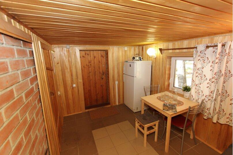Дом с сауной для отдыха, 50 кв.м. на 3 человека, 1 спальня, Сяпся, пер. дачный, 10, посёлок Сяпся - Фотография 3