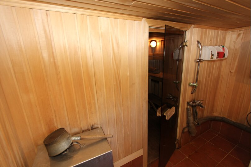 Дом с сауной для отдыха, 50 кв.м. на 3 человека, 1 спальня, Сяпся, пер. дачный, 10, посёлок Сяпся - Фотография 4