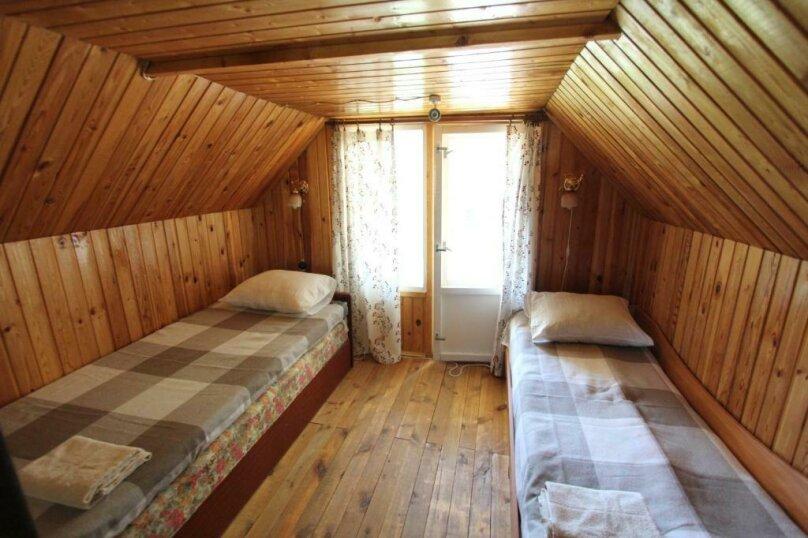 Дом с сауной для отдыха, 50 кв.м. на 3 человека, 1 спальня, Сяпся, пер. дачный, 10, посёлок Сяпся - Фотография 6