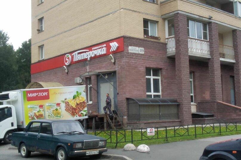 2-комн. квартира, 39 кв.м. на 3 человека, Комендантский проспект, 58к1, Санкт-Петербург - Фотография 21