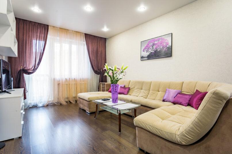 2-комн. квартира, 54 кв.м. на 4 человека, улица Батурина, 30к4, Красноярск - Фотография 5