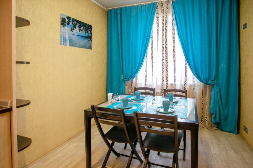 3-комн. квартира, 86 кв.м. на 6 человек, улица Молокова, 66, Красноярск - Фотография 6