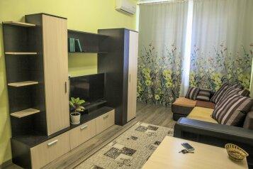 1-комн. квартира, 40 кв.м. на 4 человека, улица Энгельса, 95, Новороссийск - Фотография 1