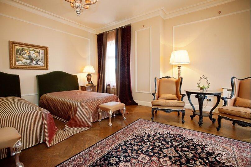 Делюкс (две кровати), улица Анджиевского, 25А, Ессентуки - Фотография 1