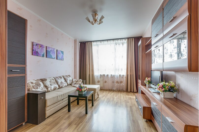 1-комн. квартира, 45 кв.м. на 3 человека, проспект Космонавтов, 65к11, Санкт-Петербург - Фотография 2