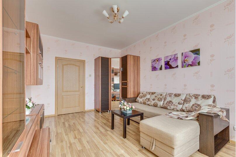 1-комн. квартира, 45 кв.м. на 3 человека, проспект Космонавтов, 65к11, Санкт-Петербург - Фотография 3