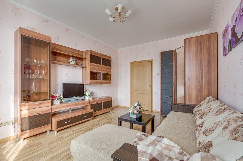 1-комн. квартира, 45 кв.м. на 3 человека, проспект Космонавтов, 65к11, Санкт-Петербург - Фотография 4