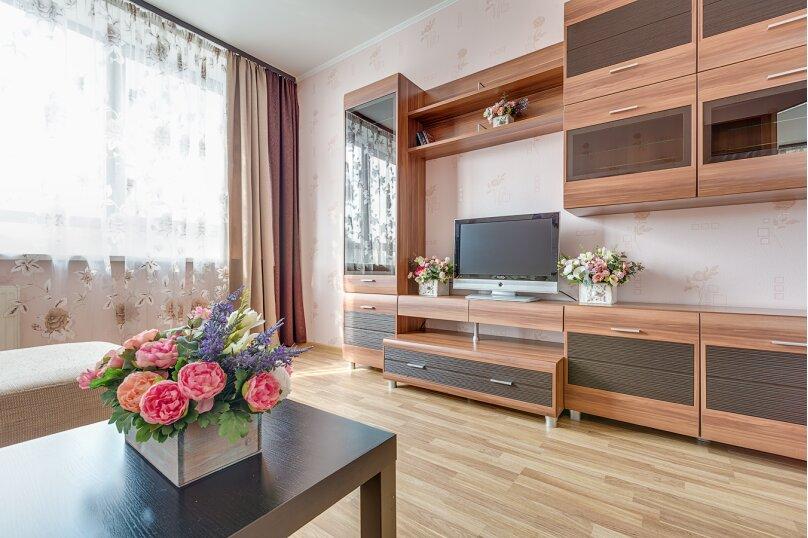 1-комн. квартира, 45 кв.м. на 3 человека, проспект Космонавтов, 65к11, Санкт-Петербург - Фотография 5