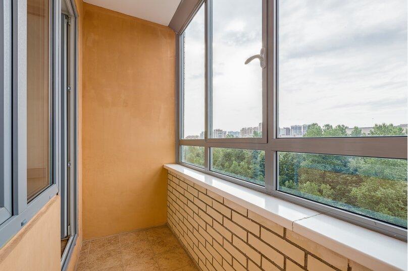 1-комн. квартира, 45 кв.м. на 3 человека, проспект Космонавтов, 65к11, Санкт-Петербург - Фотография 12