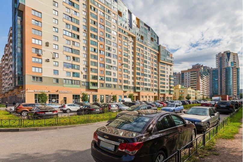 1-комн. квартира, 45 кв.м. на 3 человека, проспект Космонавтов, 65к11, Санкт-Петербург - Фотография 18