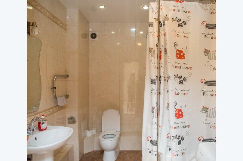 1-комн. квартира, 65 кв.м. на 4 человека, улица Дзержинского, 20, Иркутск - Фотография 11