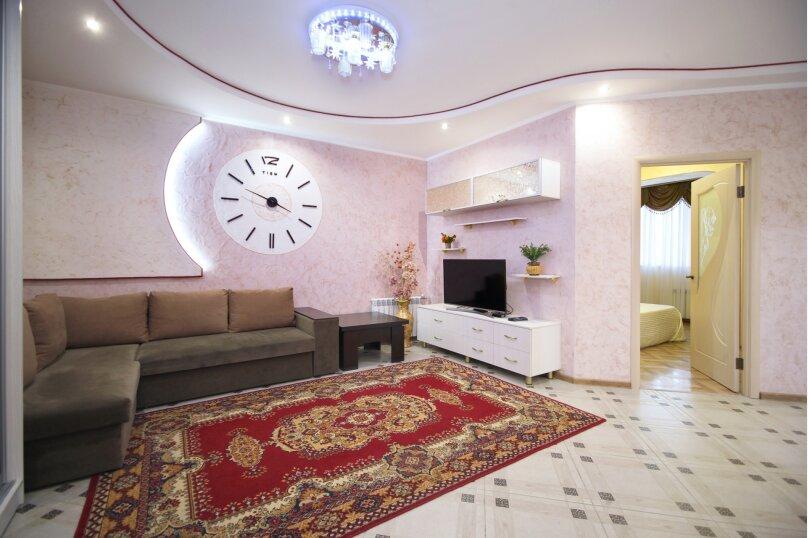 1-комн. квартира, 52 кв.м. на 4 человека, улица Лермонтова, 19А, Белгород - Фотография 6