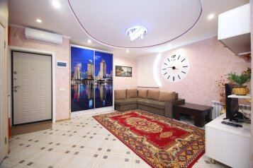 1-комн. квартира, 52 кв.м. на 4 человека, улица Лермонтова, 19А, Белгород - Фотография 4
