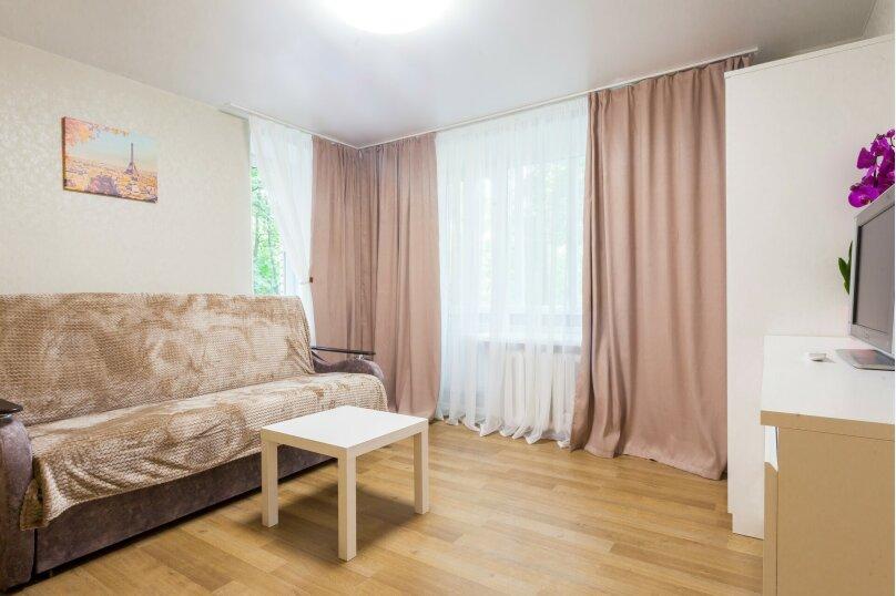 1-комн. квартира, 35 кв.м. на 4 человека, Звёздная улица, 8, Санкт-Петербург - Фотография 4