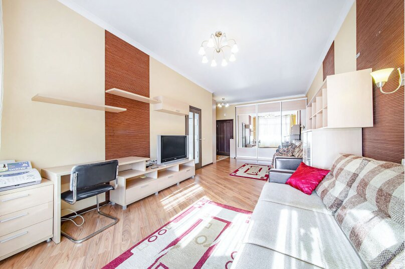 1-комн. квартира, 45 кв.м. на 4 человека, Пионерская улица, 9, Минск - Фотография 5