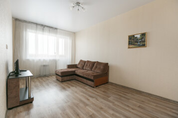 2-комн. квартира, 52 кв.м. на 6 человек, Новосибирская улица, 27, Новосибирск - Фотография 1