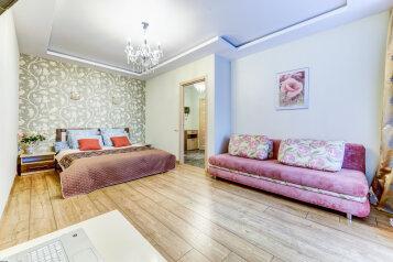 1-комн. квартира, 42.8 кв.м. на 4 человека, Кременчугская улица, 9к2, Санкт-Петербург - Фотография 1