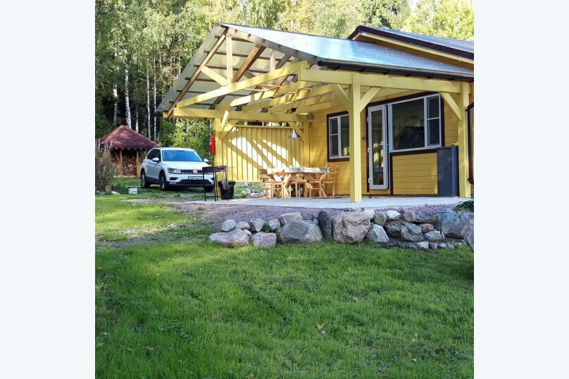 Дом с выходом в лес , 35 кв.м. на 4 человека, 1 спальня, Западная, 2, Сортавала - Фотография 15