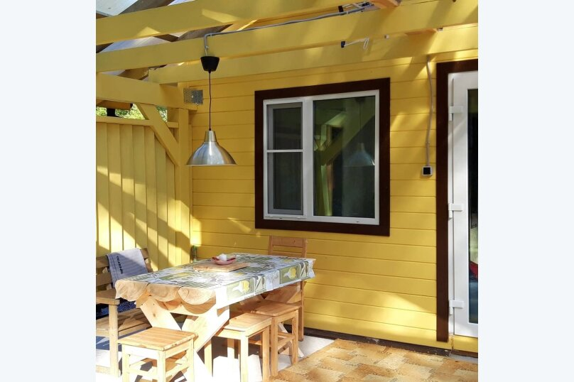 Дом с выходом в лес , 35 кв.м. на 4 человека, 1 спальня, Западная, 2, Сортавала - Фотография 19