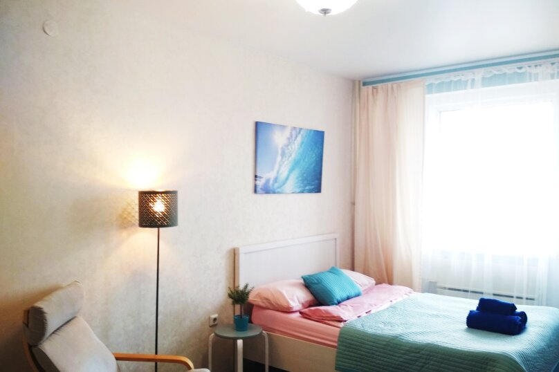 1-комн. квартира, 30 кв.м. на 3 человека, улица Академика Сахарова, 18, Казань - Фотография 1