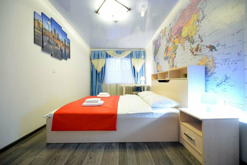 2-комн. квартира, 60 кв.м. на 5 человек, улица Сони Кривой, 61, Челябинск - Фотография 3