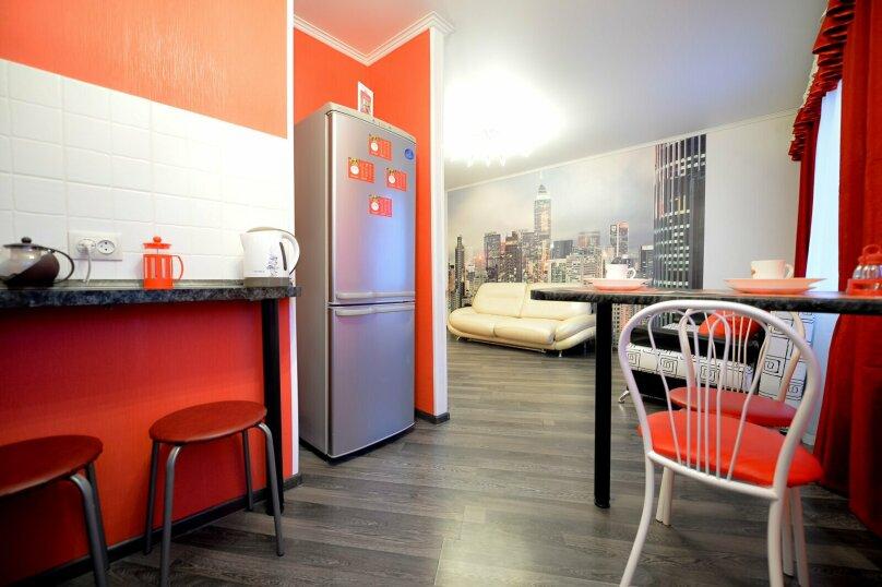 2-комн. квартира, 60 кв.м. на 5 человек, улица Сони Кривой, 61, Челябинск - Фотография 12