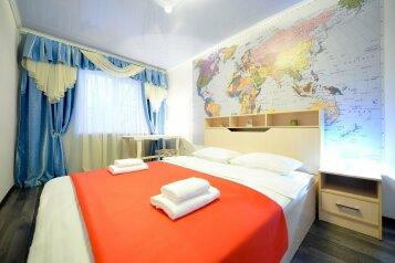 2-комн. квартира, 60 кв.м. на 5 человек, улица Сони Кривой, 61, Челябинск - Фотография 1