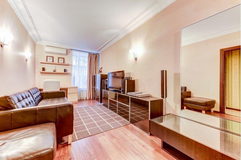 3-комн. квартира, 87 кв.м. на 6 человек, набережная реки Мойки, 8, Санкт-Петербург - Фотография 3
