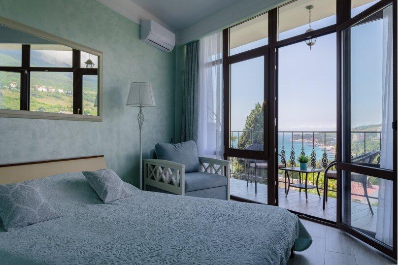 Апартаменты с панорамой на море., Афанасия Никитина, 10а, Гурзуф - Фотография 1