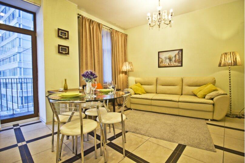 3-комн. квартира, 90 кв.м. на 8 человек, Тверская улица, 4, Москва - Фотография 1
