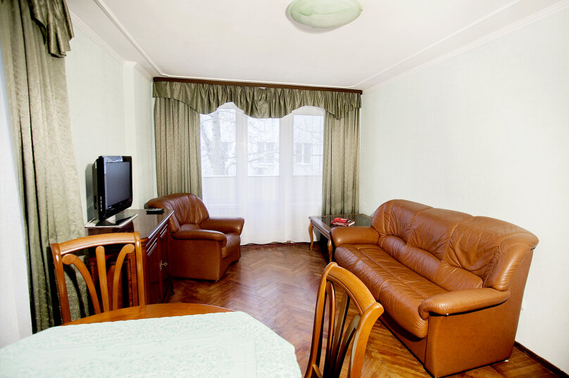 2-комн. квартира, 48 кв.м. на 5 человек, Кропоткинский переулок, 20с1, Москва - Фотография 6