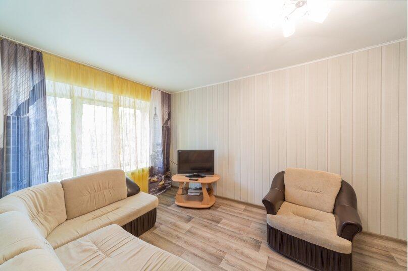 2-комн. квартира, 45 кв.м. на 4 человека, Комсомольский проспект, 24, Пермь - Фотография 3