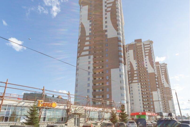 2-комн. квартира, 70 кв.м. на 6 человек, шоссе Космонавтов, 215, Пермь - Фотография 8