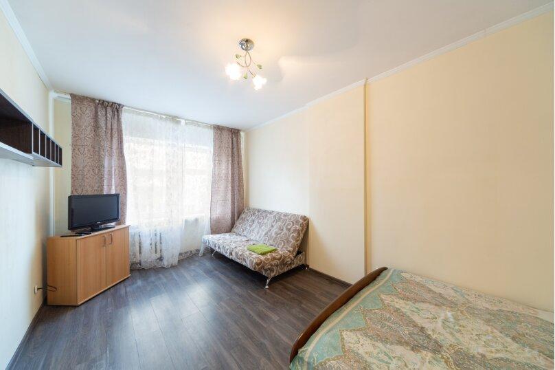 2-комн. квартира, 50 кв.м. на 6 человек, улица Танкистов, 9, Пермь - Фотография 1