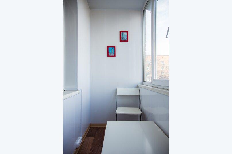 2-комн. квартира, 45 кв.м. на 4 человека, Ленинградская улица, 37, Юрга - Фотография 15