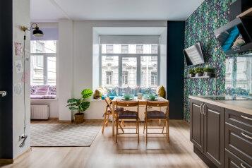 1-комн. квартира, 33 кв.м. на 4 человека, Сапёрный переулок, 10, Санкт-Петербург - Фотография 1