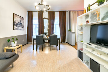 3-комн. квартира, 100 кв.м. на 8 человек, набережная реки Мойки, 28, Санкт-Петербург - Фотография 1