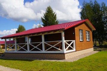 Дом с террасой, 77 кв.м. на 6 человек, 2 спальни, улица Дикий Гусь, 1, Осташков - Фотография 1