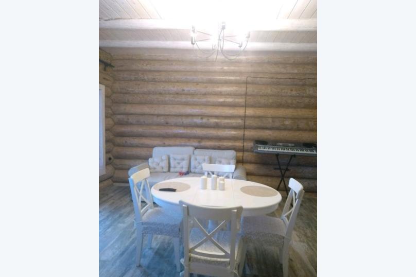 """Дом, 120 кв.м. на 8 человек, 3 спальни, деревня Березино, Заречная, уч. 15А, эко-ферма """"Березино"""", Тверь - Фотография 6"""