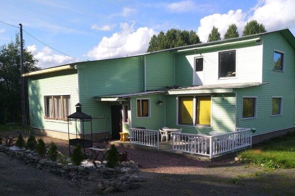 Гостевой дом , 90 кв.м. на 13 человек, 3 спальни, Пиньгуба, 1, Петрозаводск - Фотография 1