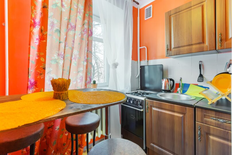 1-комн. квартира, 38 кв.м. на 4 человека, Комсомольский проспект, 34, Москва - Фотография 4
