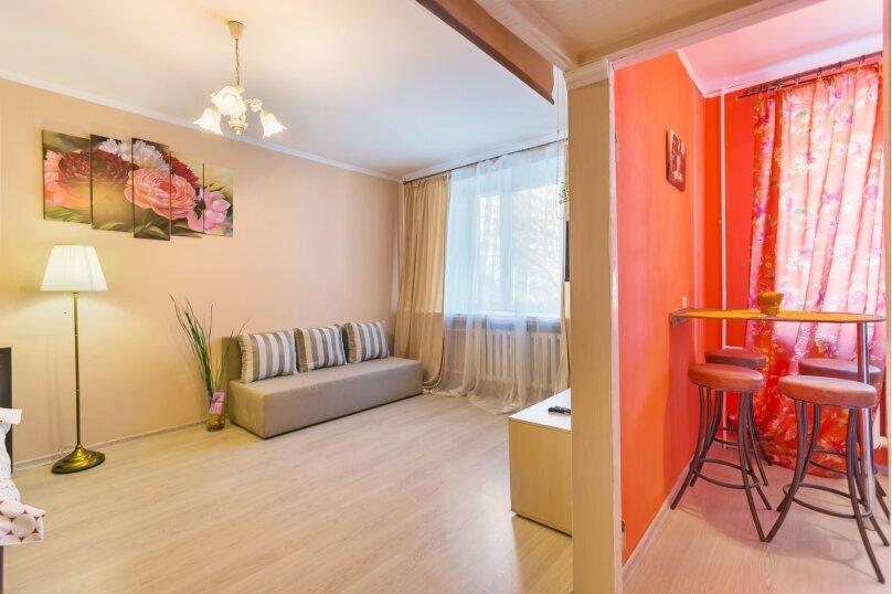 1-комн. квартира, 38 кв.м. на 4 человека, Комсомольский проспект, 34, Москва - Фотография 6