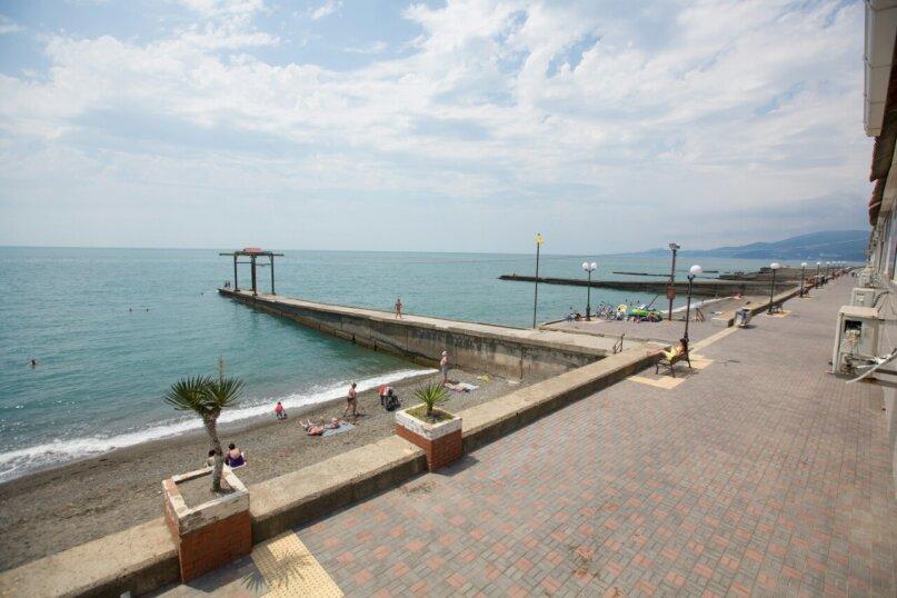 2-х местный номер с видом на море, улица Просвещения, 122к1, Адлер - Фотография 8