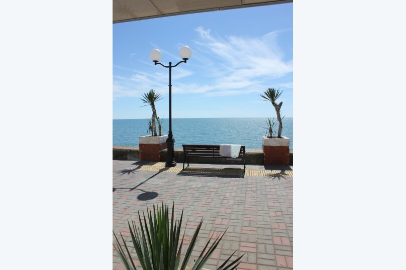 2-х местный номер с видом на море, улица Просвещения, 122к1, Адлер - Фотография 11