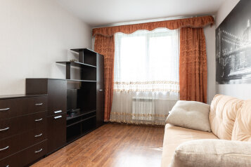 1-комн. квартира, 40 кв.м. на 3 человека, улица Ползунова, 4, Ярославль - Фотография 1
