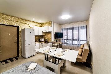 1-комн. квартира, 25 кв.м. на 4 человека, улица Галактионова, 3Б, Казань - Фотография 1