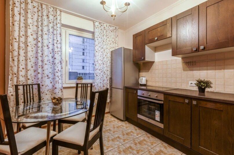 2-комн. квартира, 56 кв.м. на 4 человека, улица Введенского, 24к2, Москва - Фотография 6